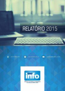Relatório – 2015